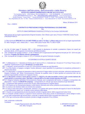 Contratto Associazione Epsilon 2013-2014 Corridoni