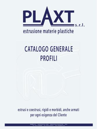 Catalogo profili 2014 - estrusione materie plastiche