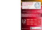 Information Technology Forum 2014 - Istituto Internazionale di Ricerca
