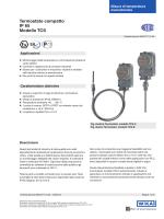 Termostato compatto IP 65 Modello TCS