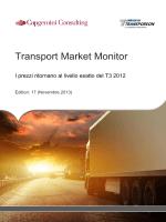 Transport Market Monitor