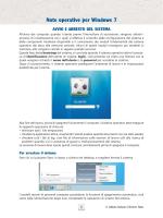 Note operative per Windows 7