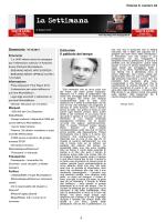 Editoriale Il patibolo del tempo