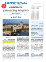 Budapest e Praga - 7 giorni