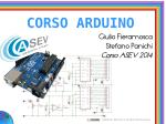 CORSO ARDUINO - GLG Programs