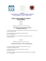 programma corso diritto minorile df