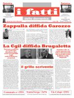 Zappulla diffida Garozzo - I fatti della domenica