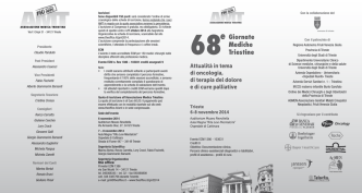 68e Giornate Mediche Triestine