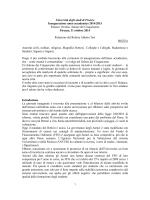 Relazione annuale - Università degli Studi di Firenze