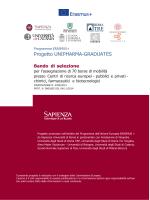 Progetto UNIPHARMA-GRADUATES