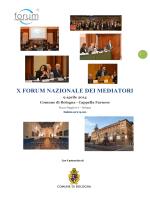 programma definitivo - Forum Nazionale dei Mediatori