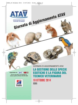ATAV_19 Ottobre 2014 - ATAV - Associazione Tecnici Ausiliari