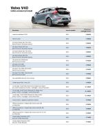 V40 - Volvo Cars