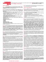 Regolamento - Carrara Marmotec