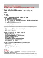 Bando Erasmus 2014/2015 - LLPManager