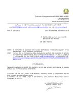 PRATICA CUD 1999 - Istituto comprensivo Camaiore 2