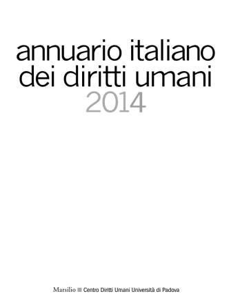 Agenda italiana dei diritti umani 2014