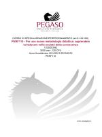 PERF110 - Per una nuova metodologia didattica: apprendere ed