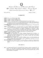 Prot. 607/C21a del 21/02/2014 - Ufficio Scolastico Regionale per le