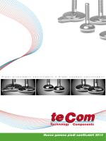 Tecom S.r.l. - Nuova gamma piedi sanificabili 2014