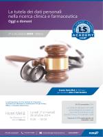 La tutela dei dati personali nella ricerca clinica e