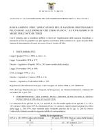 regolamento ( 252 Kb) - Provincia di Taranto