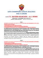 scarica qui il pdf della biglietteria as roma