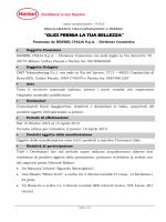 """""""GLISS PREMIA LA TUA BELLEZZA"""""""