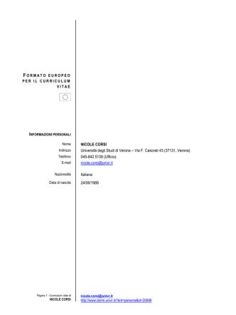 CV Nicole Corsi Ita (pdf, it, 255 KB, 8/5/14)