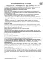 Regolamento UTE - Ute Limbiate/Home