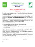 Premio Aziendale (VAP) 2014 Chiarimenti