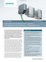 SITOP UPS1600 - Alimentatori di continuità 24 V – potenti