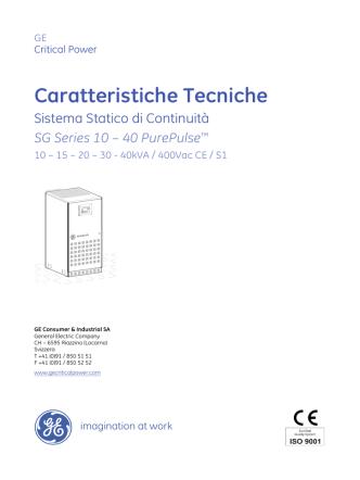 Caratteristiche Tecniche