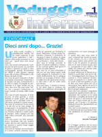 N. 1 marzo 2014 - Comune di Veduggio con Colzano