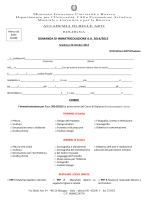 Modulo immatricolazione 14-15 - Accademia di Belle Arti Bologna