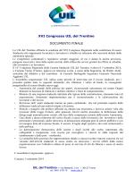 Documento finale e lista membri nuovo direttivo