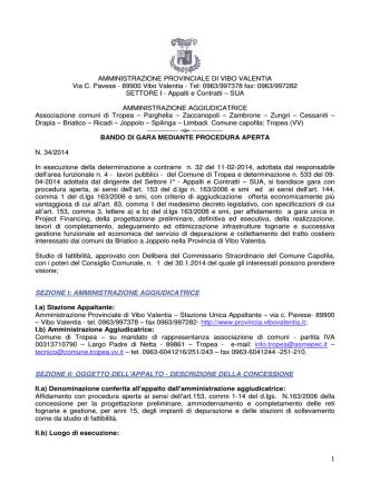 Bando 34/2014 - Comune di Cessaniti