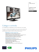 28HFL5009D/12 Philips TV LED professionale