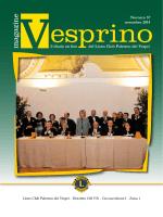 Vesprino 57 - Lions Palermo dei Vespri