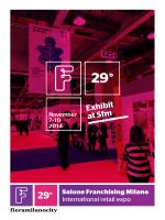 29 Exhibit at Sfm - Salone Franchising Milano