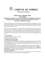 Atti - Comune di Formia
