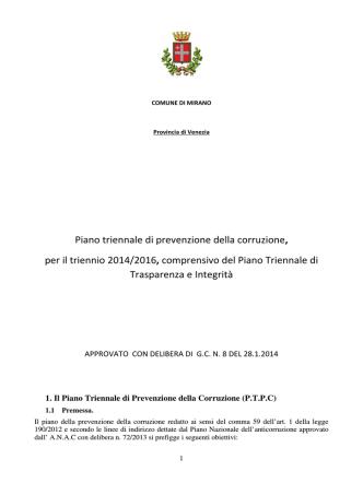 à - Comune di Mirano