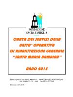 SMB Generale 2014 Pdf - Fondazione Sacra Famiglia Onlus