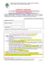 Domanda - Comune di Monza
