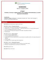 Programma - centrostudistrategici
