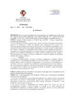 (Provincia di Benevento) Prot. N. 9538 del 31/07/2014 IL SINDACO