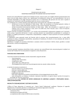 """Allegato 2 Scheda tecnica del servizio """"ASSISTENZA"""