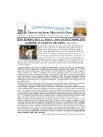 39 - 28 Settembre 2014 - Parrocchia Santa Maria della Pieve