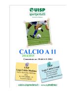 nr.10 del 06.11.2014 - Sporting Club Sassuolo