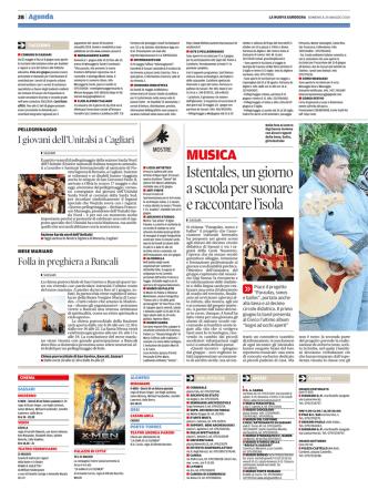 25 Maggio 2014 (La Nuova)